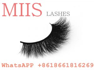 customized packaging 3d mink eyelashes